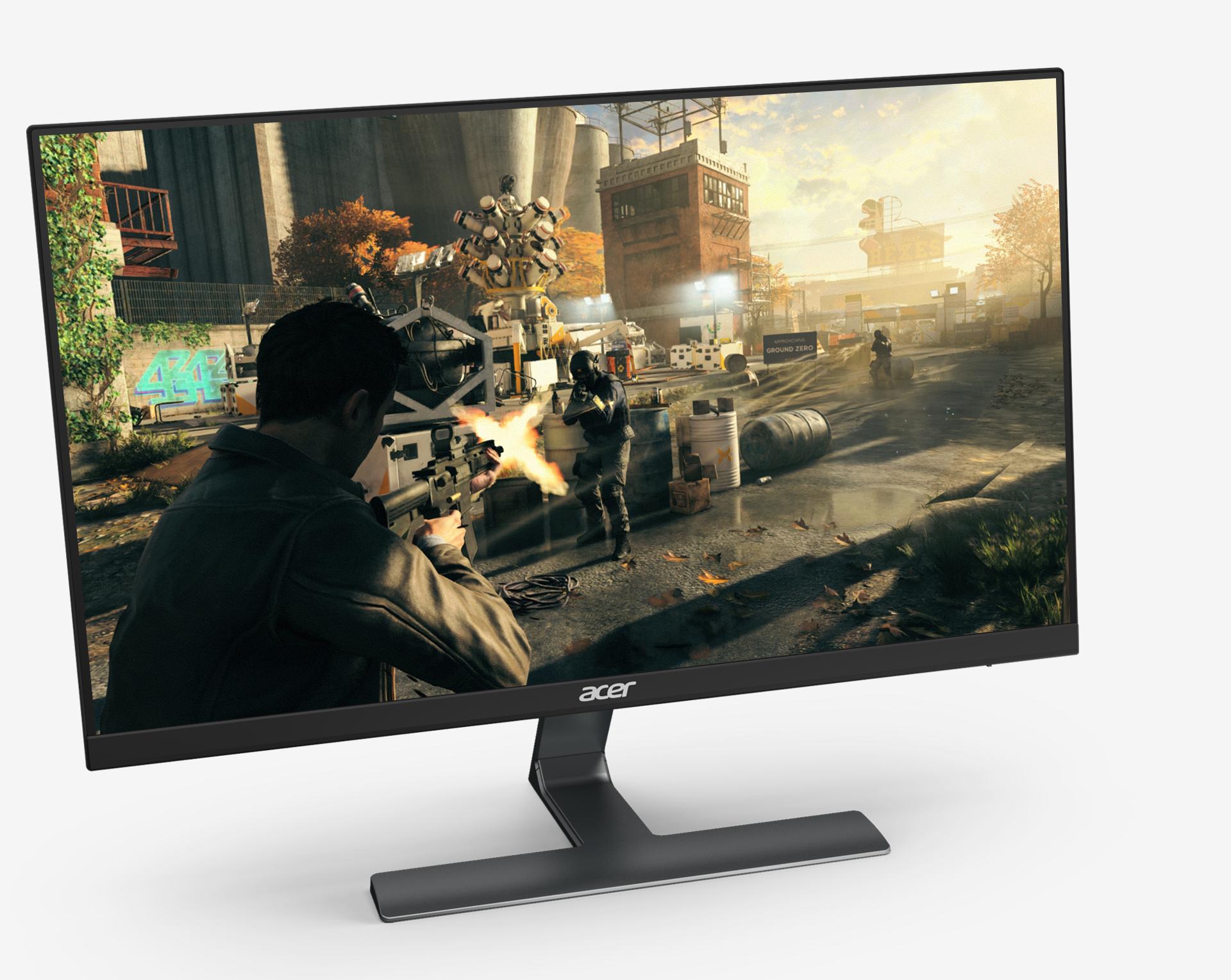 Monitores LCD RG0 Características   Acer