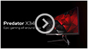 Predator X34 – epic gaming all around you
