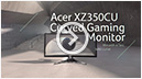 XZ350CU curved gaming monitor - win with a fast, bold curve