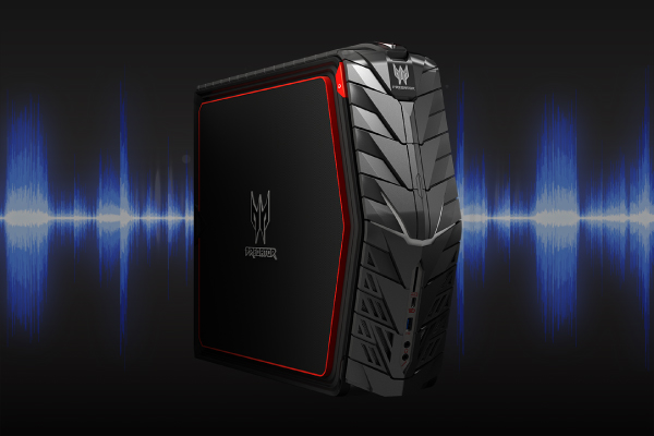 SoundBlaster X-Fi MB5 and 7.1 channel audio will captivate you in glorious gaming audio. Amplify enemy footsteps, mask your voice, and more.