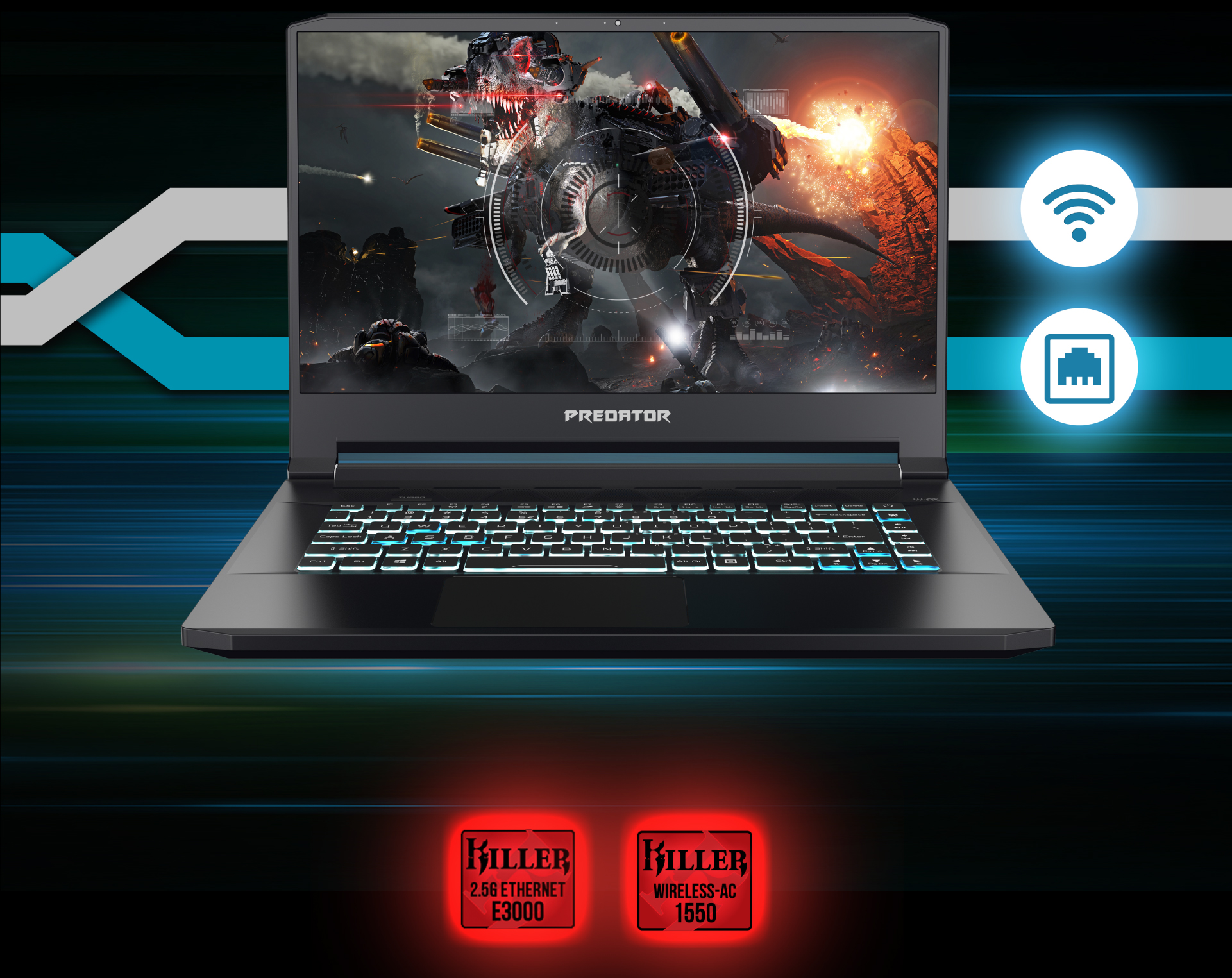 Predator Triton 500 - LESS LATENCY, MORE VICTORY - Large