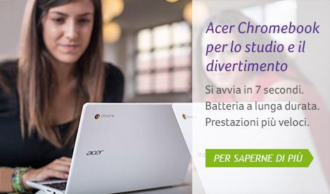 Acer Chromebook per lo studio e il divertimento