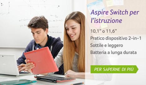 Aspire Switch per l'istruzione