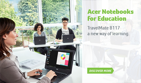 Acer Notebooks for Education
