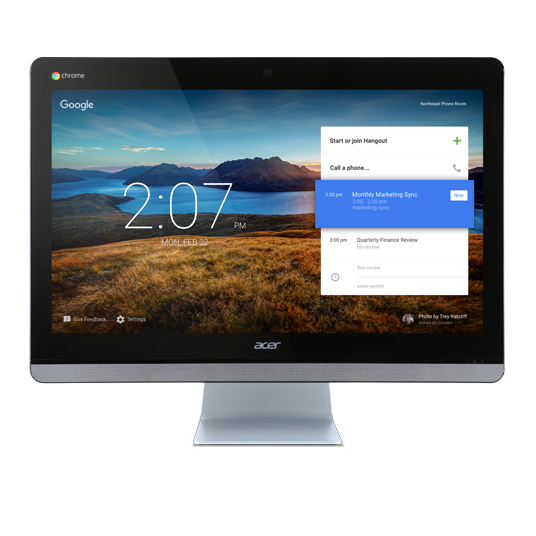 Acer Chromebase for Meetings