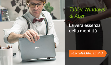 Tablet Windows di Acer