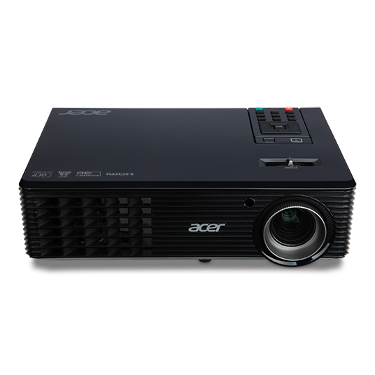 Acer P1163 Projector Dlp Svga 3 000 Lm Brightness 17 000