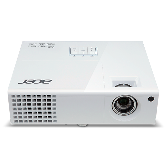 Acer X138WH Projector - 3700 Lumens - WXGA