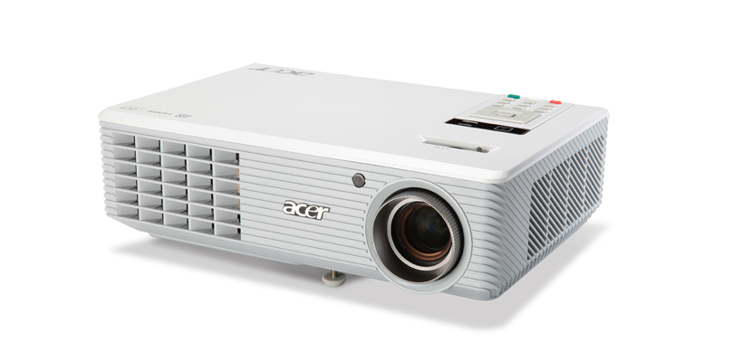H5 series projectors the compact chic white acer h5 for Compact hd projector