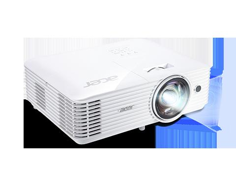 Acer S1286H ST Projector - 3500 Lumens - XGA - 4:3 - Short Throw 0.6