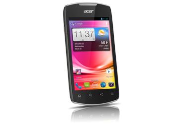 Acer | Liquid E | Acer Liquid Glow E330 Black | Overview