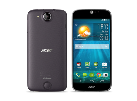 Acer smartphone Liquid Jade S S56 ComicBlack preview