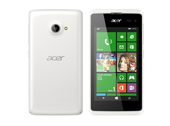Acer smartphone Liquid M220 White preview