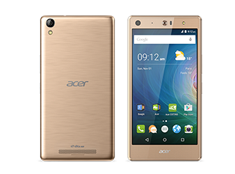 Acer smartphone Liquid X2 Gold preview