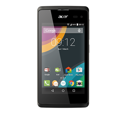 Acer smartphone Liquid Z220 Z100 Black photogallery 01