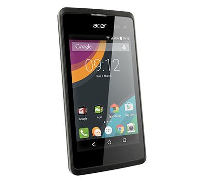 Acer smartphone Liquid Z220 Z100 Black photogallery 04