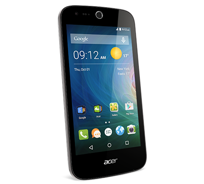 Acer smartphone Liquid Z320 Z330 Black photogallery 01