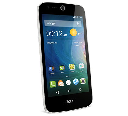 Acer smartphone Liquid Z320 Z330 white photogallery 01