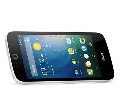 Acer smartphone Liquid Z320 Z330 white photogallery 03