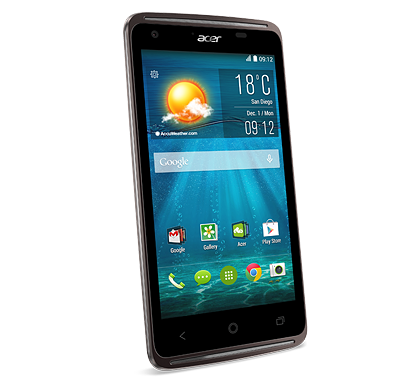 Acer smartphone Liquid Z410 Black photogallery 02