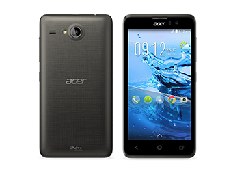 Acer smartphone Liquid Z520 Black preview