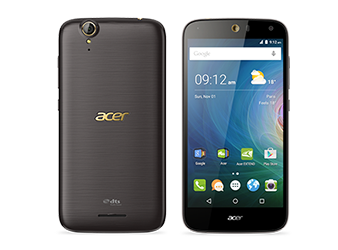 Acer smartphone Liquid Z630S Black gold preview