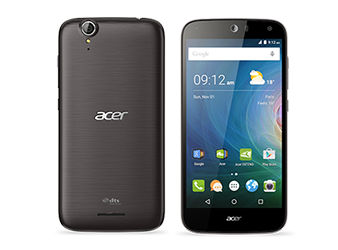 Acer smartphone Liquid Z630S Black Silver trim preview