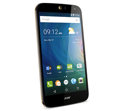 Acer smartphone Liquid Z630S Black gold photogallery 01