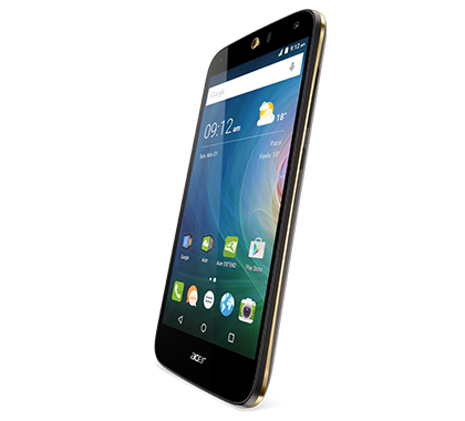 Acer smartphone Liquid Z630S Black gold photogallery 02