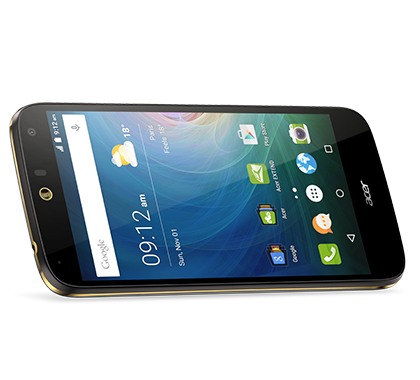 Acer smartphone Liquid Z630S Black gold photogallery 03