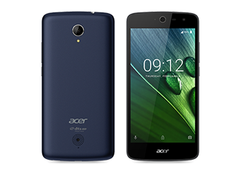 Acer smartphone Liquid Zest 4G Blue preview