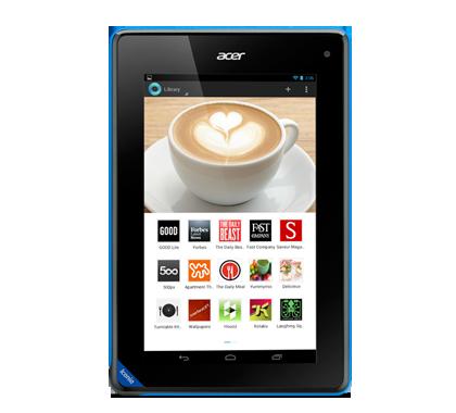 Home page > Tablets > Iconia B > Iconia B1-A71