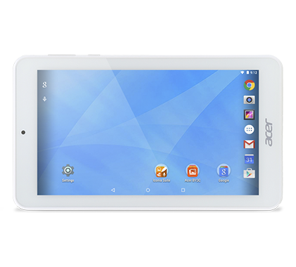 Acer Tablet Iconia One 7 B1 770 White gallery 01