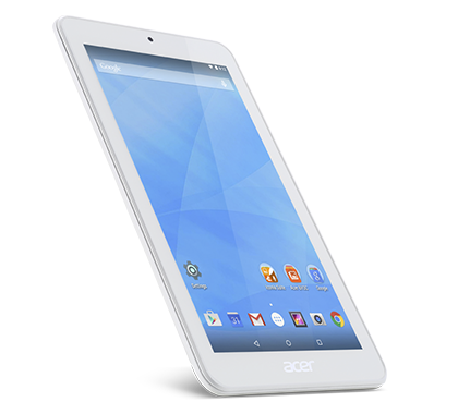 Acer Tablet Iconia One 7 B1 770 White gallery 02