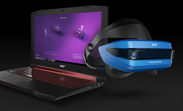 Windows Mixed Reality Headset Features   Virtual & Mixed