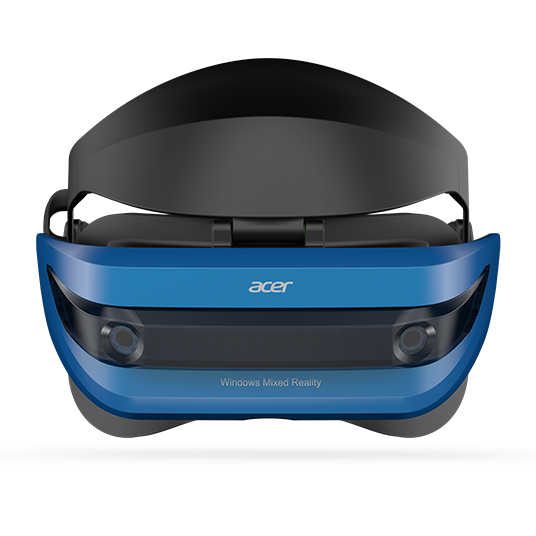 Acer Windows Mixed Reality VR Headset and Motion Controllers Bundle (AH101-D8EY)
