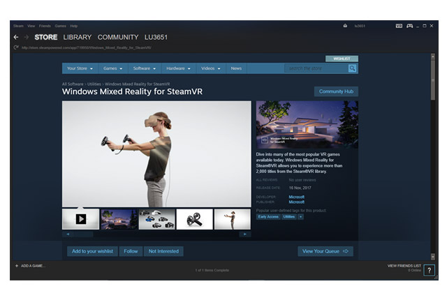 How to Setup SteamVR