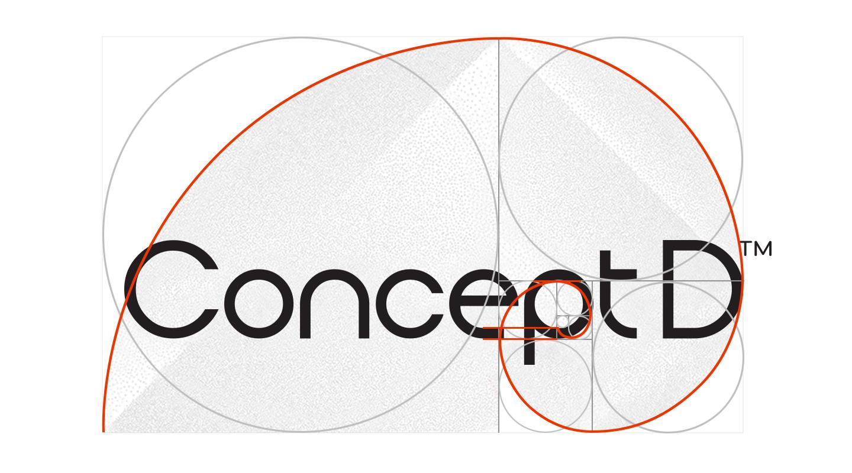 ConceptD logo design